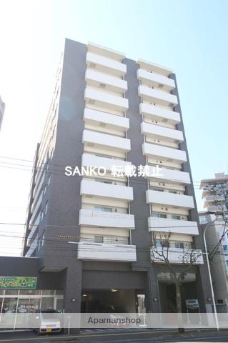 北海道札幌市北区、新琴似駅徒歩13分の築10年 10階建の賃貸マンション