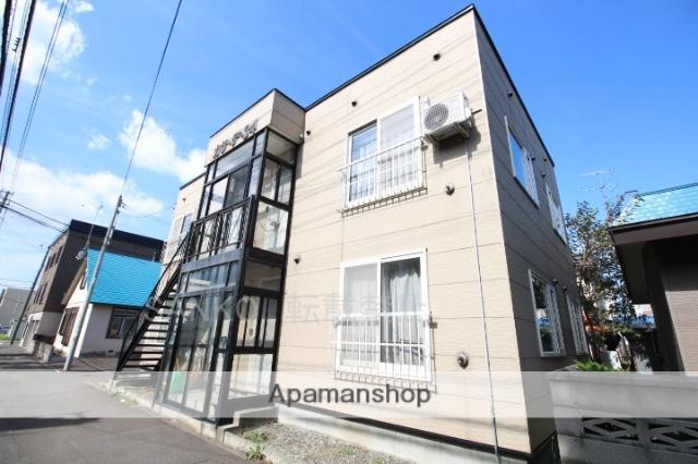 北海道札幌市東区、麻生駅徒歩17分の築18年 2階建の賃貸アパート