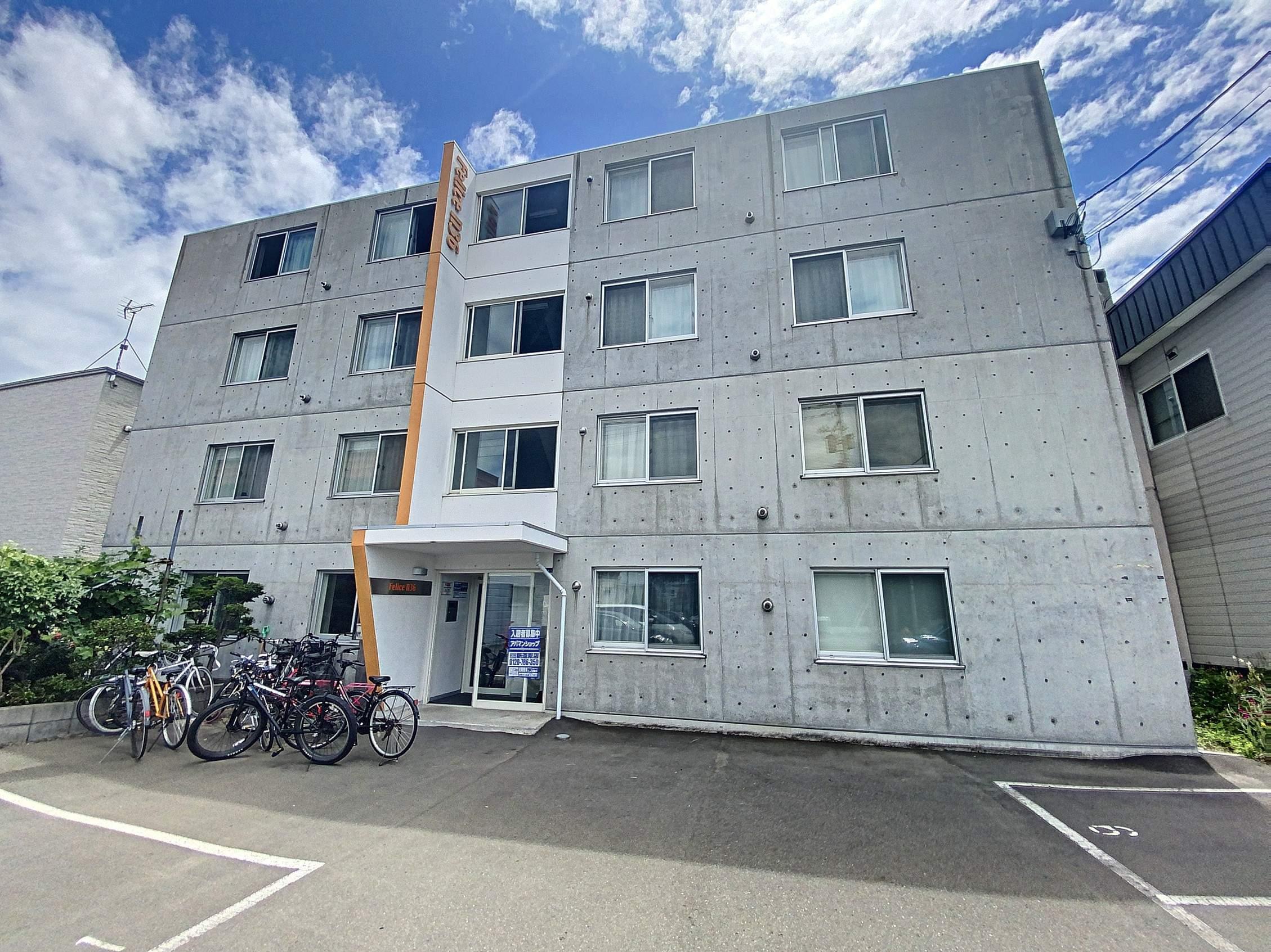 北海道札幌市東区、新琴似駅徒歩19分の築7年 4階建の賃貸マンション