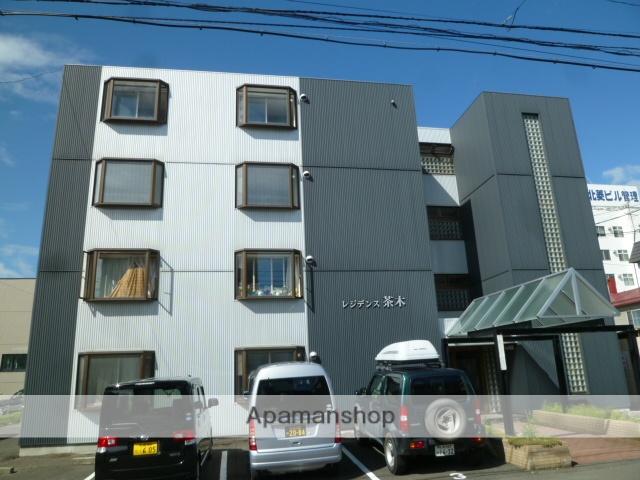 北海道札幌市北区、北34条駅徒歩18分の築27年 4階建の賃貸マンション