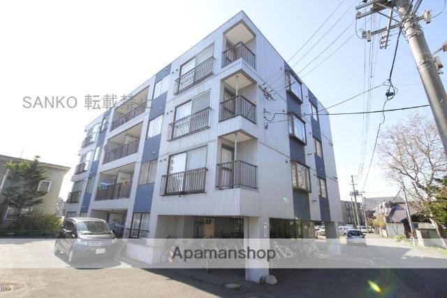 北海道札幌市東区、北12条駅徒歩14分の築29年 4階建の賃貸マンション