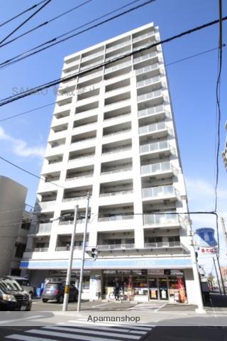 北海道札幌市東区、札幌駅徒歩9分の築9年 15階建の賃貸マンション