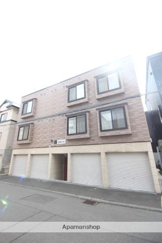 北海道札幌市北区、新川駅徒歩14分の築13年 3階建の賃貸アパート