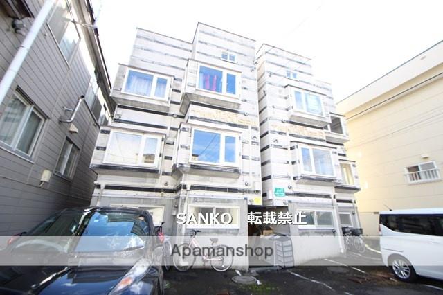 北海道札幌市北区、新川駅徒歩19分の築22年 3階建の賃貸アパート