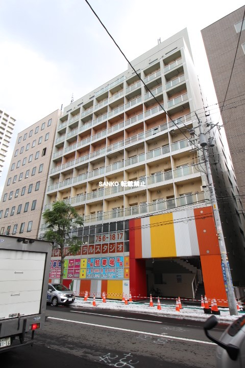 北海道札幌市北区、札幌駅徒歩4分の築28年 10階建の賃貸マンション