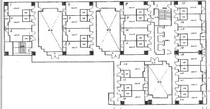 STRIPE札幌[1R/15.75m2]の配置図