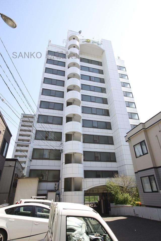 北海道札幌市東区、東区役所前駅徒歩10分の築26年 11階建の賃貸マンション