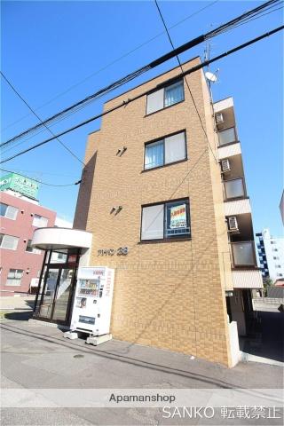 北海道札幌市北区、新琴似駅徒歩15分の築21年 4階建の賃貸マンション