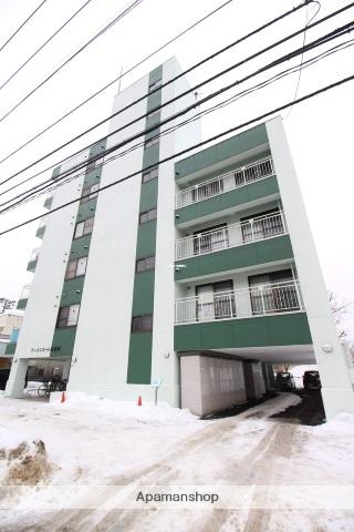 北海道札幌市北区、新琴似駅徒歩6分の築32年 6階建の賃貸マンション