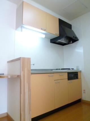 グランデス[1K/28m2]のキッチン