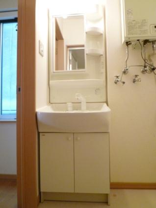 グランデス[1K/28m2]の洗面所