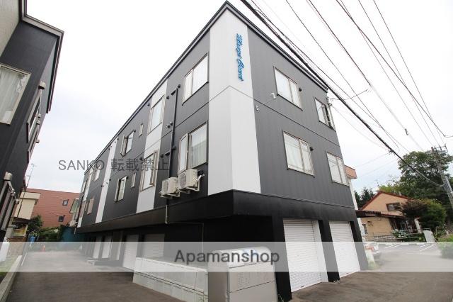 北海道札幌市東区、北24条駅徒歩19分の築2年 3階建の賃貸アパート