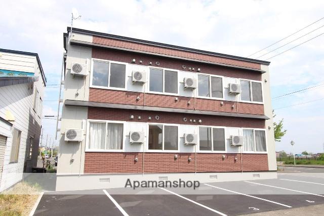 北海道札幌市北区、篠路駅徒歩18分の新築 2階建の賃貸アパート