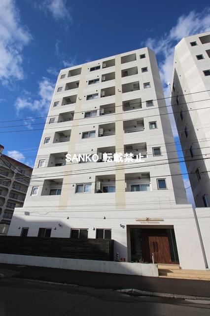 北海道札幌市北区、麻生駅徒歩17分の新築 8階建の賃貸マンション