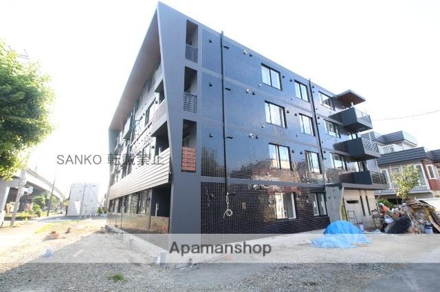 北海道札幌市東区、北34条駅徒歩16分の新築 4階建の賃貸マンション