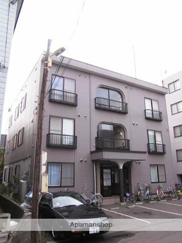 北海道札幌市東区、麻生駅徒歩15分の築17年 3階建の賃貸アパート