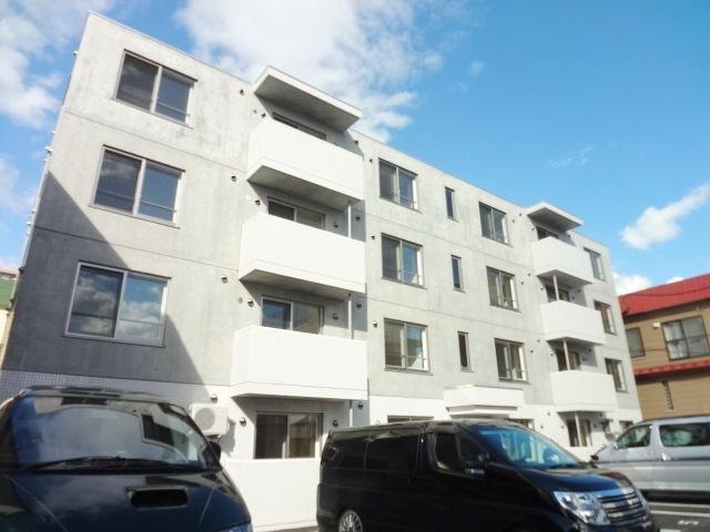 北海道札幌市東区、環状通東駅徒歩15分の築3年 4階建の賃貸マンション