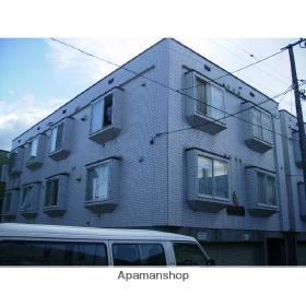 北海道札幌市北区、麻生駅徒歩16分の築23年 2階建の賃貸アパート
