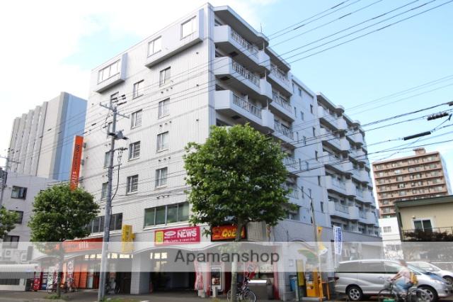 北海道札幌市北区、札幌駅徒歩8分の築30年 7階建の賃貸マンション