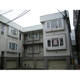 北海道札幌市北区、新琴似駅徒歩6分の築34年 2階建の賃貸アパート