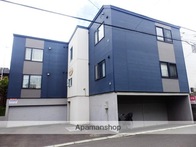 北海道札幌市北区、新琴似駅徒歩10分の築13年 3階建の賃貸アパート