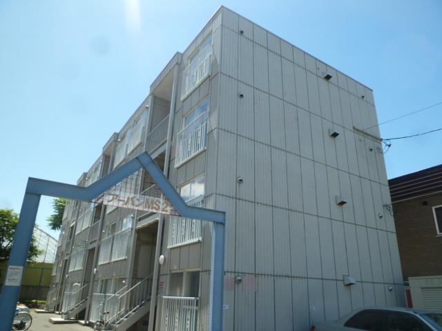 北海道札幌市北区、北24条駅徒歩9分の築29年 4階建の賃貸マンション