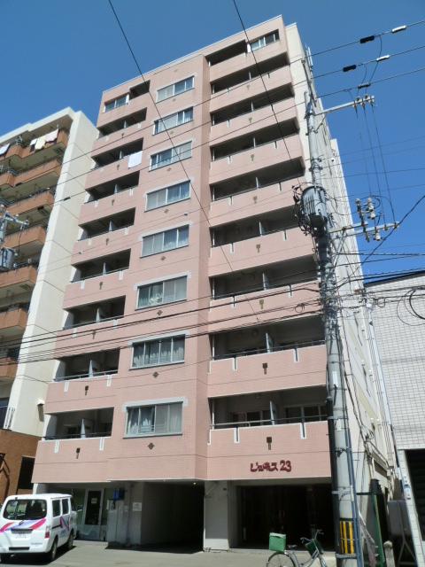 北海道札幌市北区、北34条駅徒歩14分の築29年 10階建の賃貸マンション
