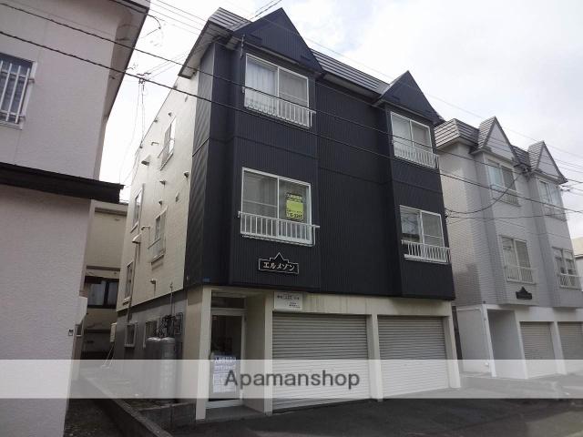 北海道札幌市東区、栄町駅徒歩19分の築27年 3階建の賃貸アパート
