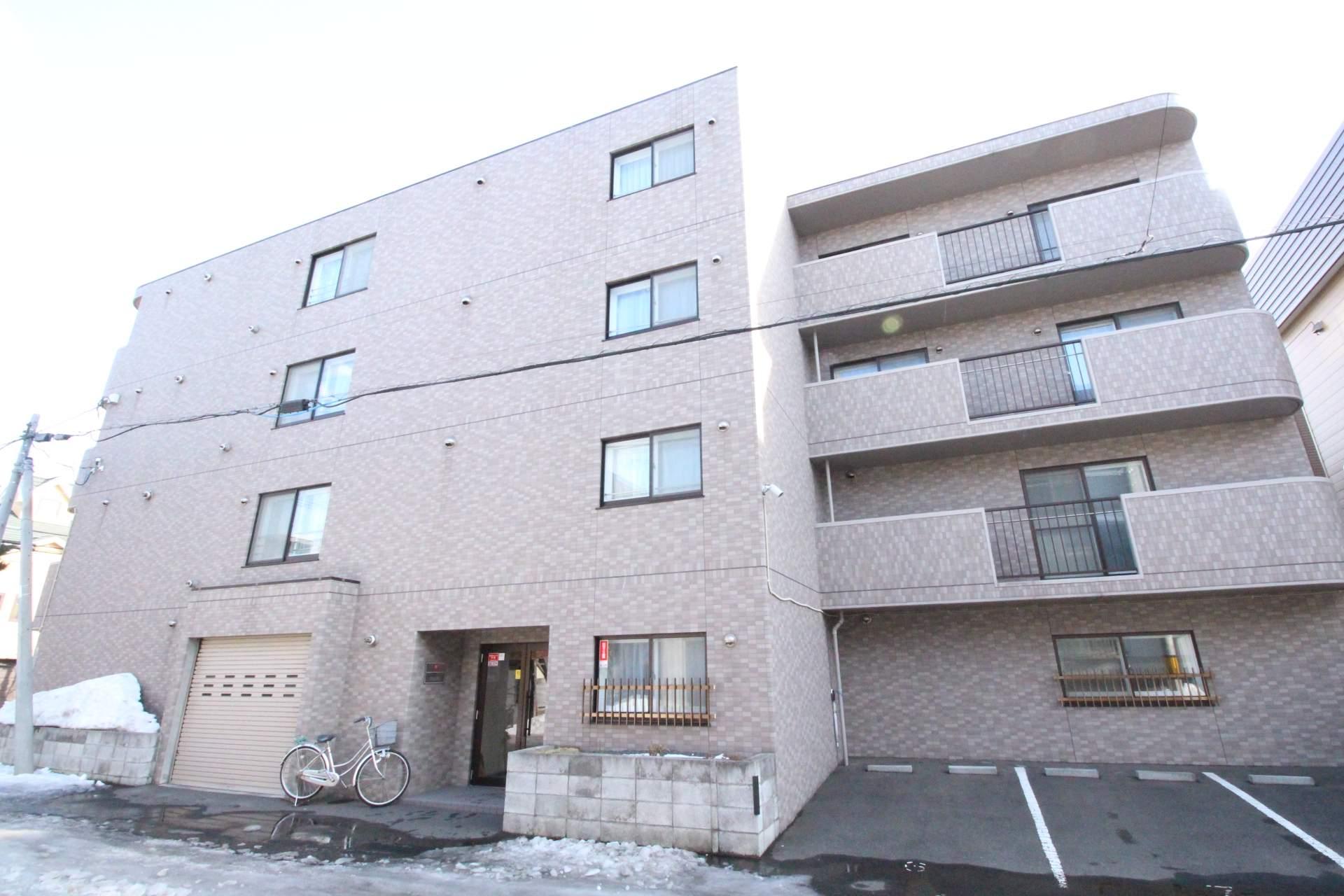 北海道札幌市東区、北34条駅徒歩12分の築11年 4階建の賃貸マンション