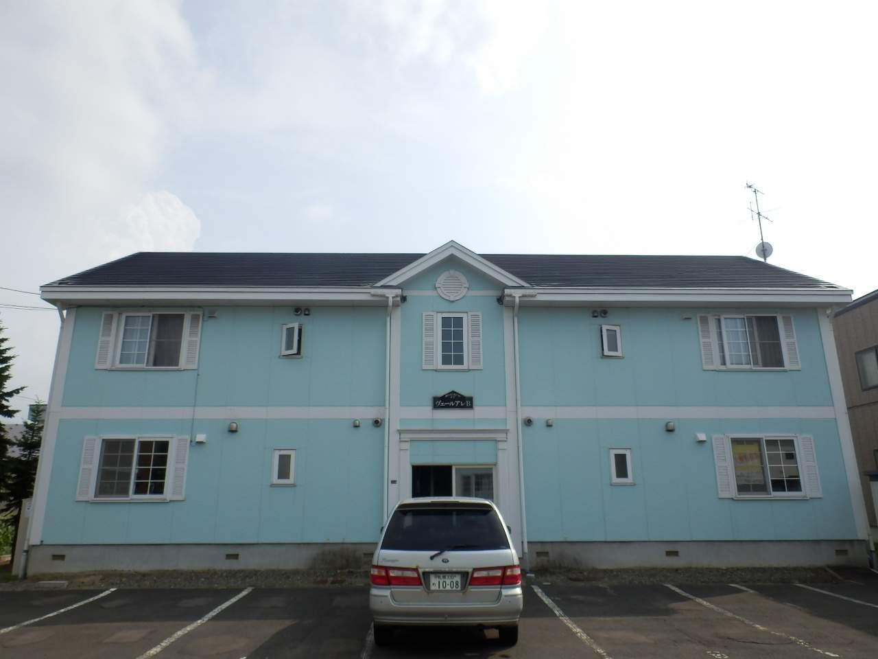 北海道札幌市北区、新琴似駅徒歩28分の築21年 2階建の賃貸アパート