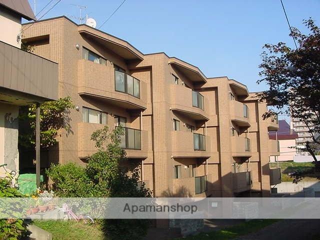北海道札幌市豊平区、美園駅徒歩19分の築23年 4階建の賃貸マンション