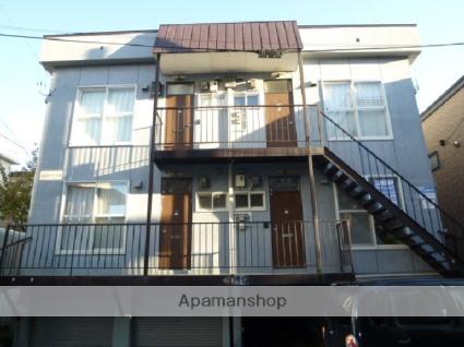 北海道札幌市豊平区、白石駅徒歩18分の築31年 3階建の賃貸アパート
