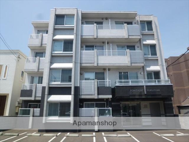北海道札幌市豊平区、月寒中央駅徒歩17分の築9年 4階建の賃貸マンション