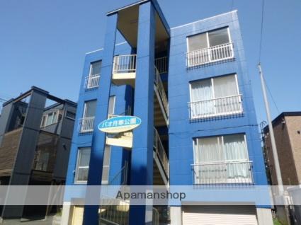 北海道札幌市豊平区、豊平公園駅徒歩17分の築21年 4階建の賃貸マンション
