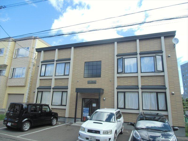 北海道札幌市豊平区、美園駅徒歩25分の築10年 2階建の賃貸アパート