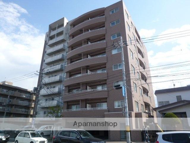 北海道札幌市豊平区、平岸駅徒歩13分の築10年 8階建の賃貸マンション