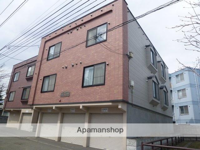 北海道札幌市豊平区、平岸駅徒歩13分の築14年 3階建の賃貸アパート