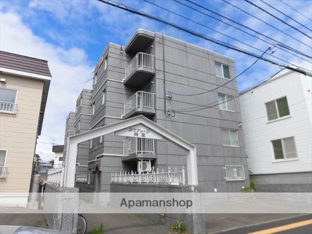 北海道札幌市豊平区、平岸駅徒歩13分の築25年 4階建の賃貸マンション