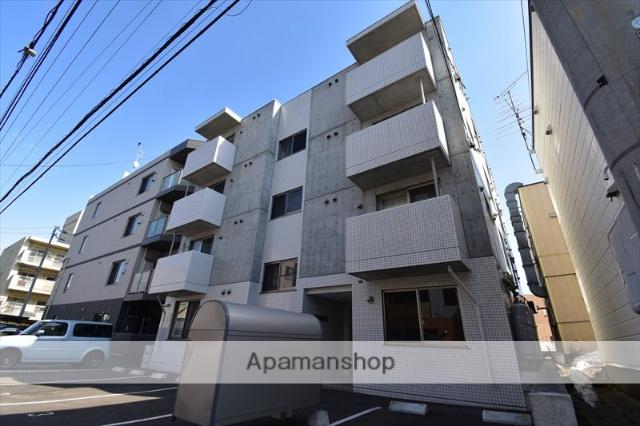 北海道札幌市豊平区、美園駅徒歩20分の築3年 4階建の賃貸マンション