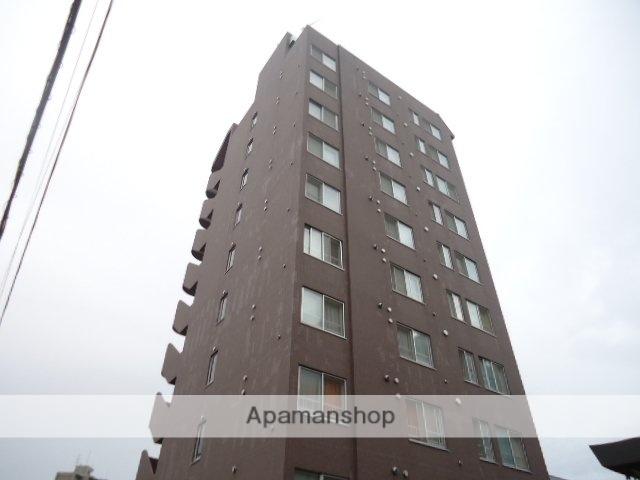 北海道札幌市豊平区、学園前駅徒歩17分の築18年 10階建の賃貸マンション