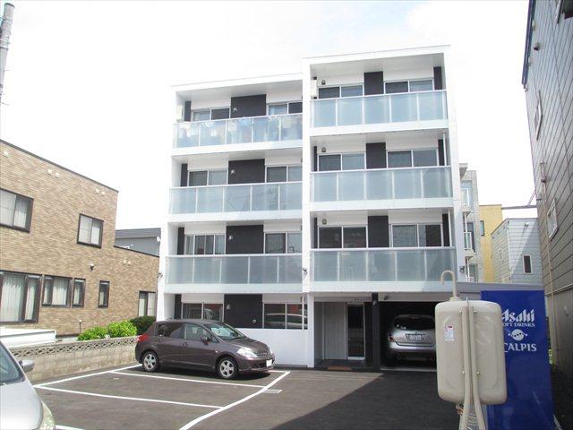 北海道札幌市豊平区、白石駅徒歩20分の築1年 4階建の賃貸マンション