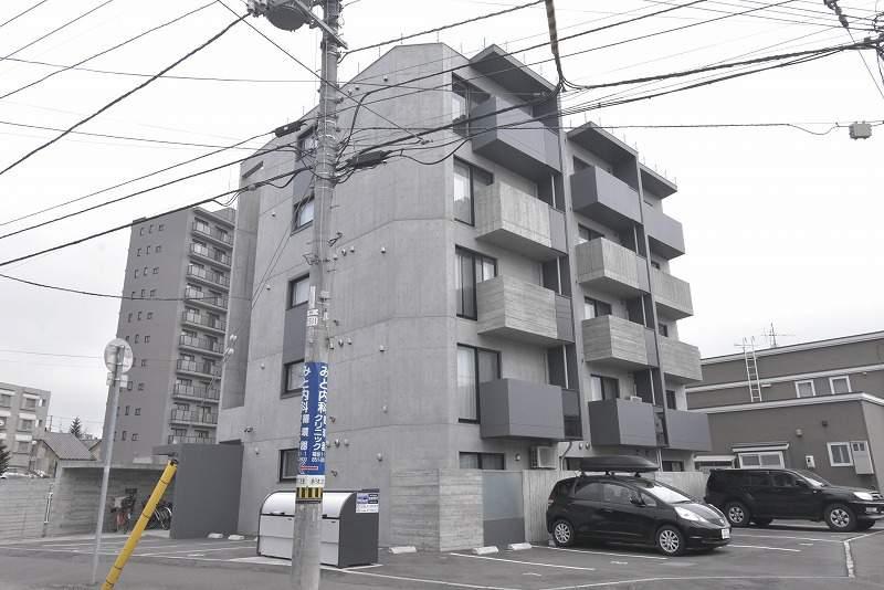 北海道札幌市豊平区、月寒中央駅徒歩12分の新築 5階建の賃貸マンション