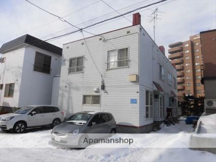 北海道札幌市豊平区、豊平公園駅徒歩19分の築29年 2階建の賃貸テラスハウス