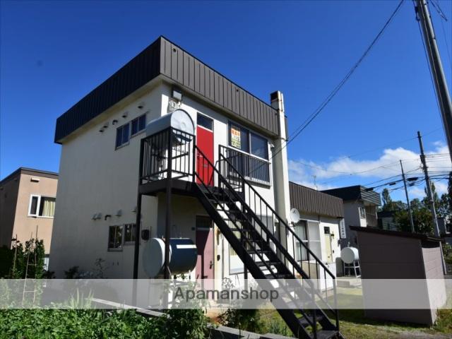 北海道札幌市豊平区の築45年 2階建の賃貸アパート