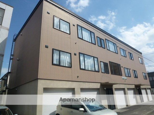 北海道札幌市豊平区、平岸駅徒歩11分の築13年 3階建の賃貸アパート