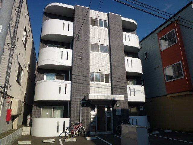 北海道札幌市豊平区、南郷7丁目駅徒歩8分の築6年 4階建の賃貸マンション