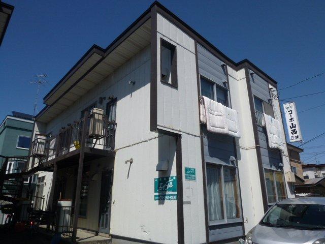 北海道札幌市豊平区、南郷7丁目駅徒歩12分の築34年 2階建の賃貸アパート
