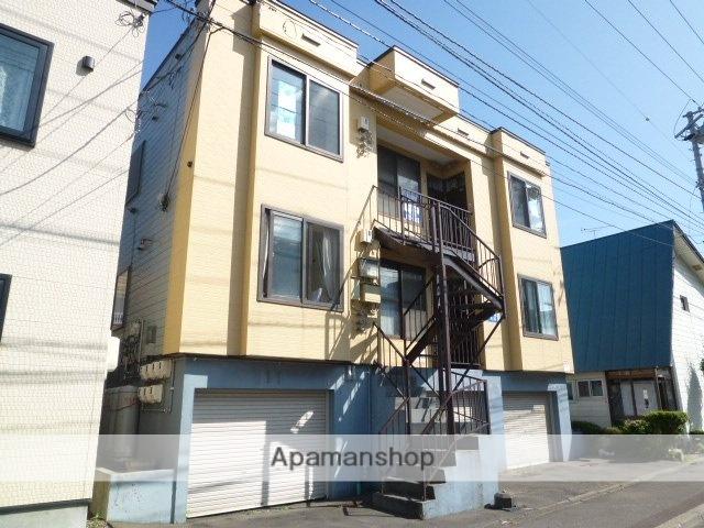 北海道札幌市豊平区、豊平公園駅徒歩15分の築29年 3階建の賃貸アパート