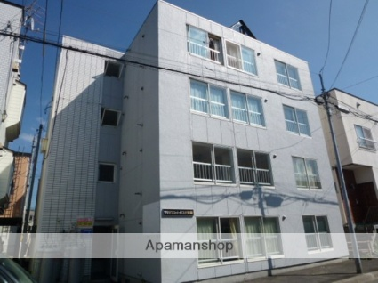 北海道札幌市豊平区、白石駅徒歩14分の築27年 4階建の賃貸マンション