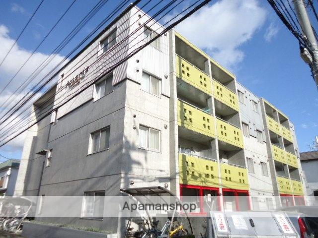 北海道札幌市豊平区、平岸駅徒歩13分の築13年 4階建の賃貸マンション